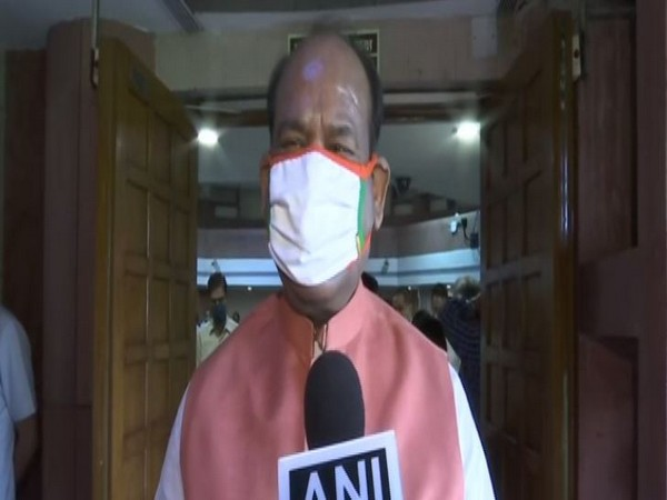 Birla observed that the efficiency of the officials will improve if they acquire proficiency in another language apart from their known languages. (Photo: ANI)