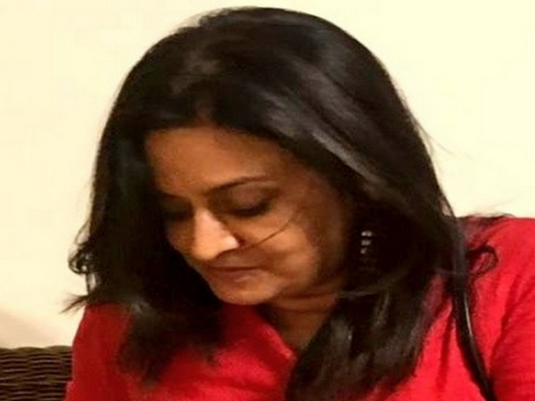 Bharati Chaturvedi, the spouse to Indian High Commissioner to Pakistan Ajay Bisaria. Photo/ANI