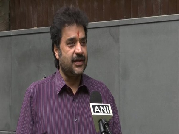 Congress MLA Kuldeep Bishnoi speaking to ANI on Monday.