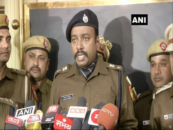 DCP south-east Chinmoy Biswal briefing media in New Delhi on Monday