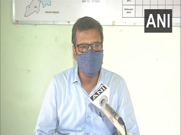 HR Biswas, Director, India Meteorological Department, Bhubaneswar. (Photo/ANI)