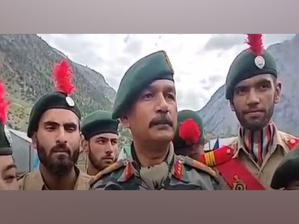 General officer Commanding (GOC) of Srinagar  Lieutenant General D P Pandey