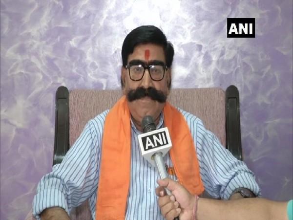 BJP MLA Gyan Dev Ahuja speaking to ANI in Jaipur, Rajasthan on June 29.Photo/ANI