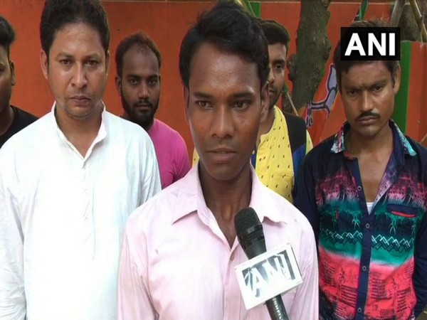 Subal Das, whose father was killed in the violence, said that he will request PM Modi to ensure peace in Midnapore. (Photo/ANI)