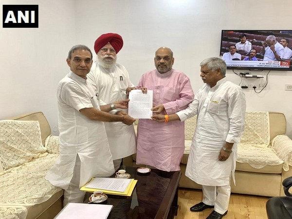 BJP delegation submits its report to BJP National President and Union Home Minister Amit Shah on BJP workers' killings and violence in Bhatpara.