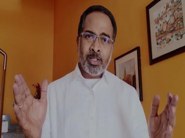 BJP chief spokesperson K Krishna Saagar Rao. (Photo/ANI)
