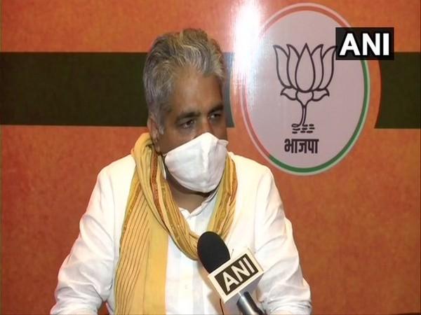 Bhupender Yadav, Bihar's BJP incharge speaking to ANI on Thursday.