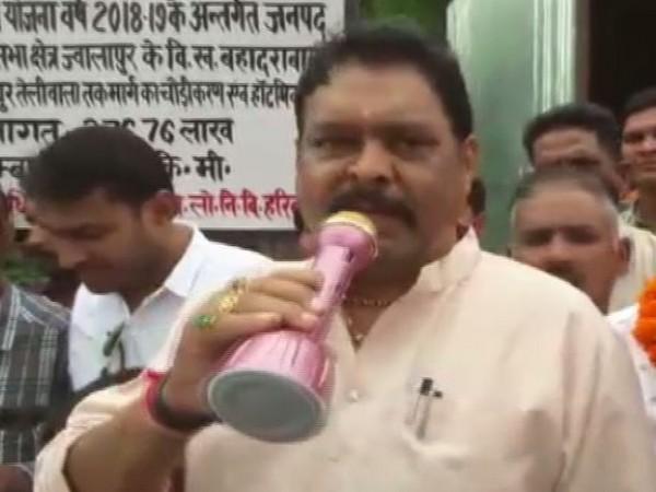 BJP MLA Suresh Rathore in the viral video