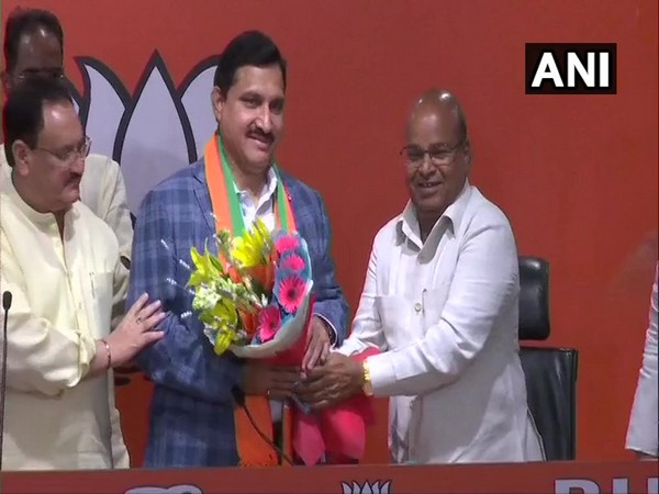TDP Rajya Sabha MP formally joined BJP here o Thursday along with two others