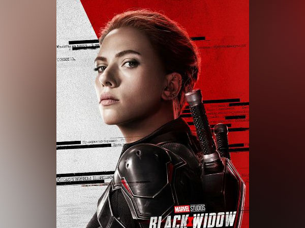 A poster of the film 'Black Widow' featuring Scarlett Johansson (Image courtesy: Twitter)