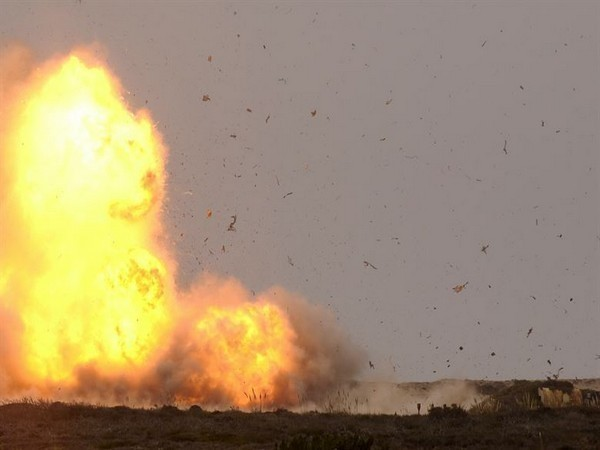 The explosion took place at a crowded place in the central area of Azaz