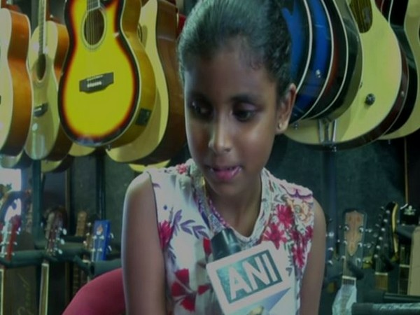 Niranjani, an 8-year-old visually imapired gril spoke to ANI about her experieincein Coimbatore in Tamil Nadu. Photo/ANI