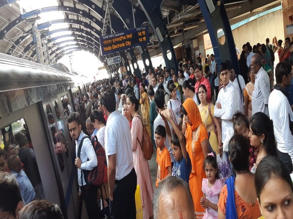 Technical problem led to delay in services of Blue Line Metro