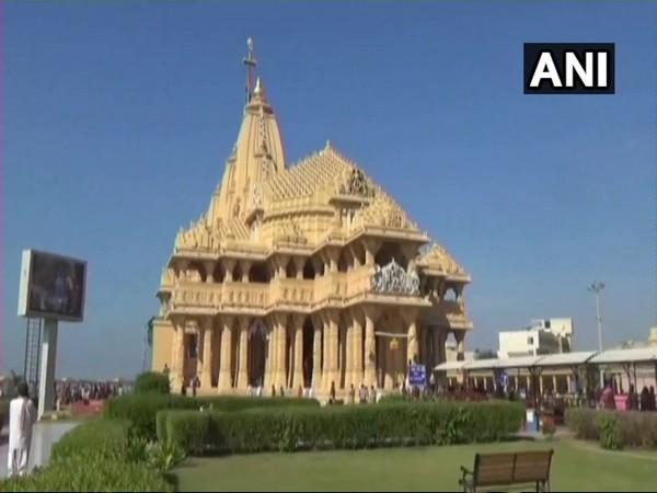 Somnath Temple (file pic/ANI).
