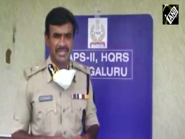 Central Industrial Security Force Inspector General CV Anand [Photo/ANI]