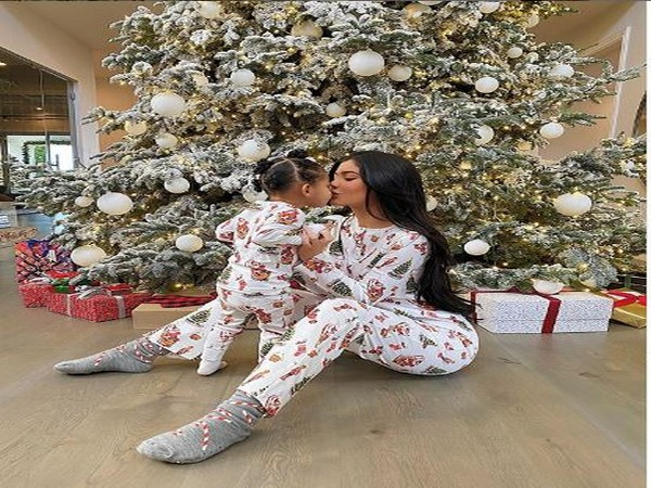 Kylie Jenner with daughter Stormi Webster