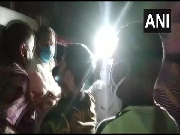 Visual of Kolkata Police arresting BJP leader Rakesh Singh' sons in Kolkata (Photo/ANI)
