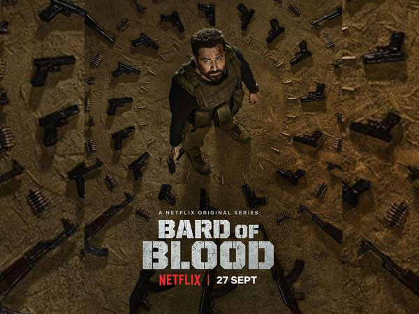 Poster of 'Bard of Blood', Image courtesy: Instagram