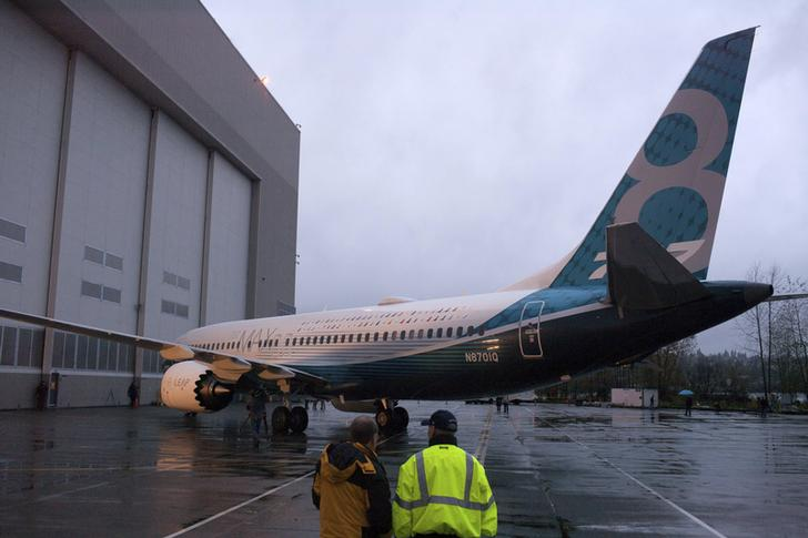 The Boeing 737 MAX 8 jet (Image Source: Reuters)