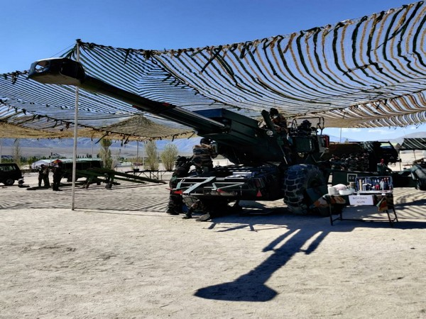 Bofors gun in Ladakh.