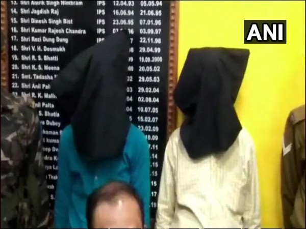 Two persons whom police arrested in Bokaro district in Jharkhand on Saturday. Photo/ANI