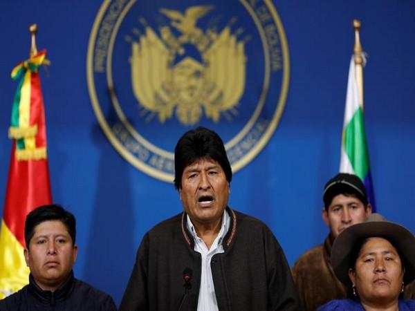 Bolivian President Evo Morales (File pic)