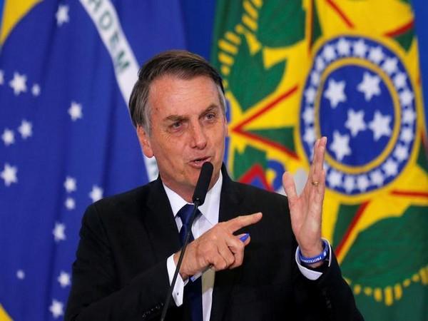 Brazilian President Jair Bolsonaro (file photo)