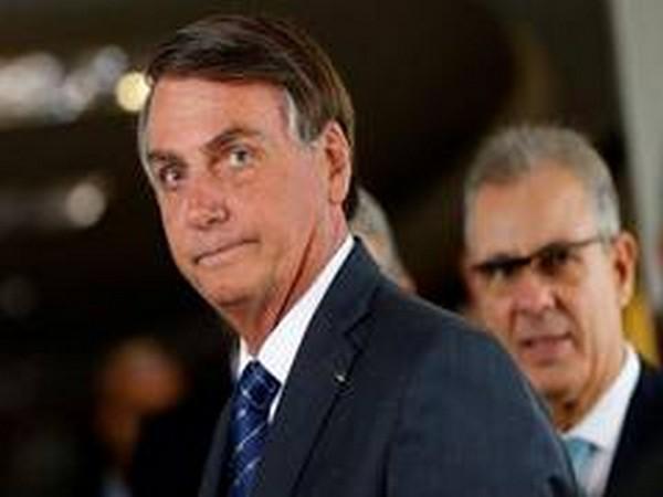 Brazilian President Jair Bolsonaro (File pic)