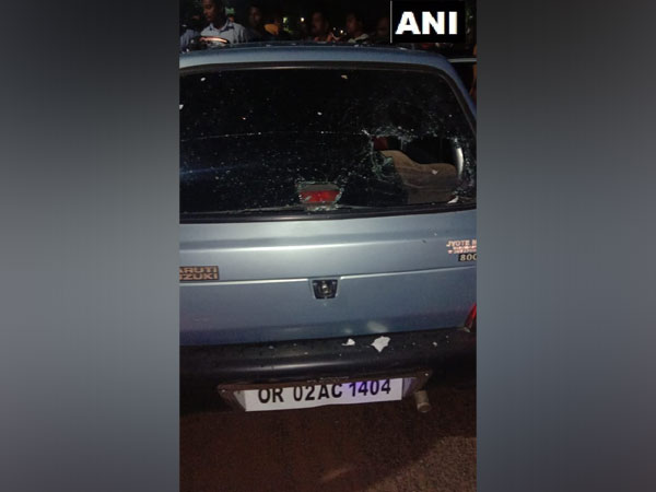A bomb was hurled at BJD's MLA candidate from Bhubaneswar-Central and former Bhubaneswar Mayor, Anant Narayan Jena