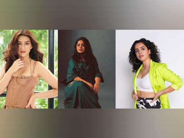Kriti Sanon, Ashwiny Iyer Tiwari and Sanya Malhotra ( Image Source: Instagram)