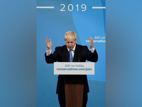 Boris Johnson speaks after being announced as Britain's next Prime Minister in London on Tuesday