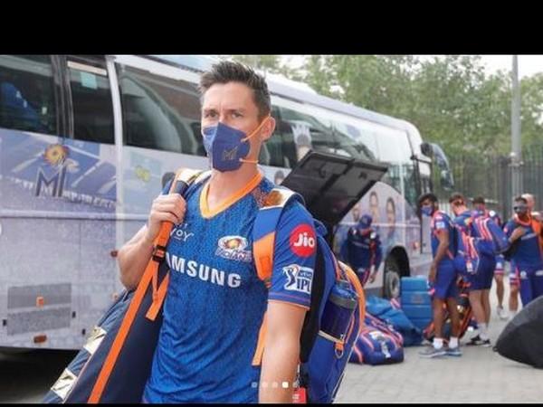 Mumbai Indians pacer James Pattinson (Photo/ Mumbai Indians Twitter)