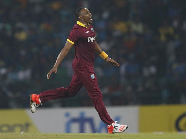 West Indies' Dwayne Bravo
