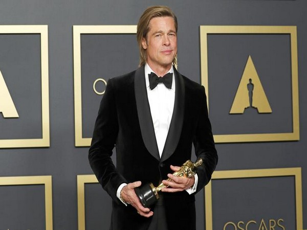Actor Brad Pitt at the 92nd Oscars ceremony in Los Angeles