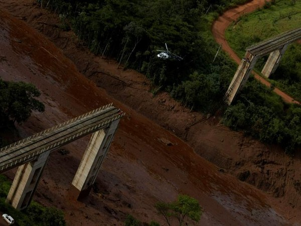 Visuals from the Brumadinho dam collapse, which occurred in January 2019 (file photo)