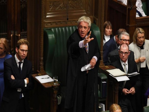 Speaker John Bercow speaks at the House of Commons