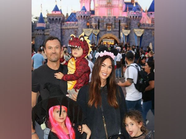 Meghan Fox along with husband Brian Austin Green and three children (Image courtesy: Instagram)