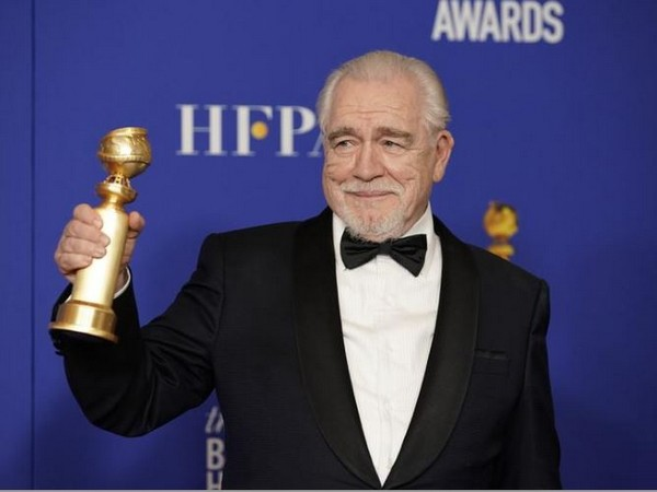 Brian Cox wins his first-ever Golden Globe