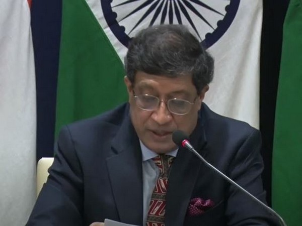 Sanjay Bhattacharyya, Secretary (CPV and OIA) speaking at a special virtual briefing on Thursday.