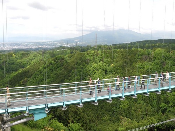 Mishima Skywalk in Shizuoka Prefecture of Japan