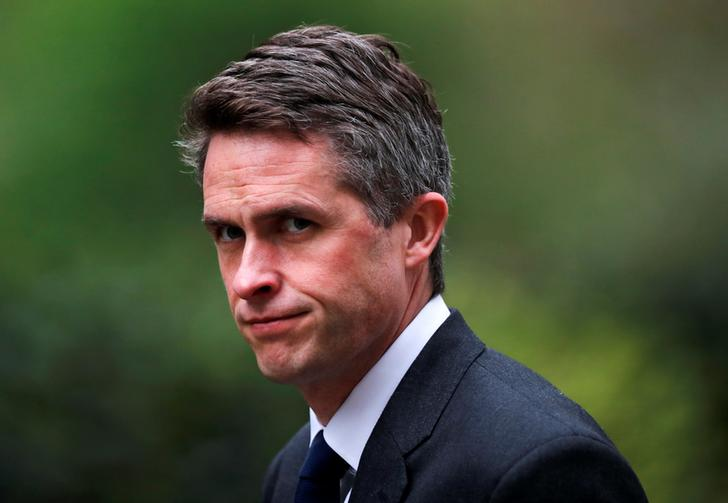 British Defense Secretary Gavin Williamson. (Photo: Reuters)