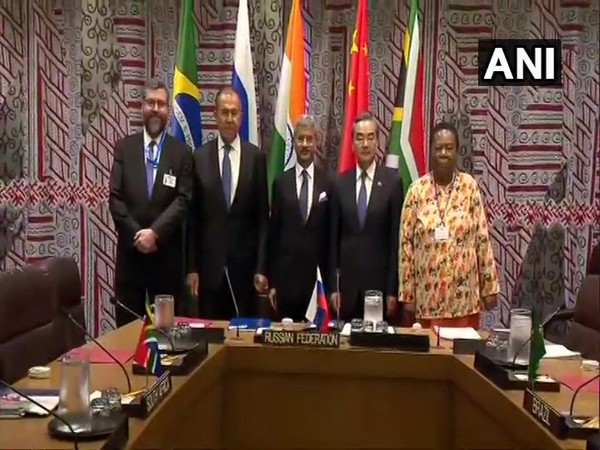 The BRICS meeting in New York on Thursday (file photo)