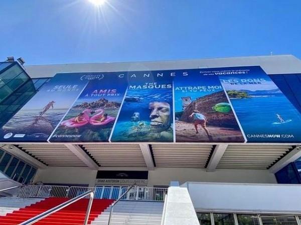 Imagen fija desde la puerta del Festival de Cine de Cannes (Fuente de la imagen: Instagram)
