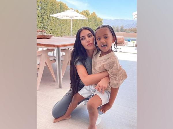 Kim Kardashian with her son Saint West (Image Source: Instagram)