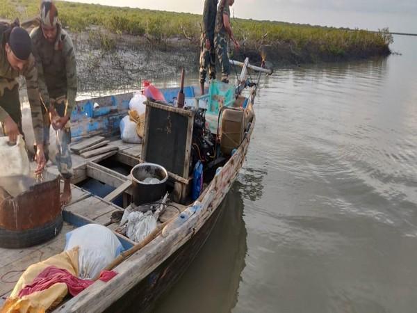 BSF seized two Pakistani fishing boats in the Dafa creek area on Saturday