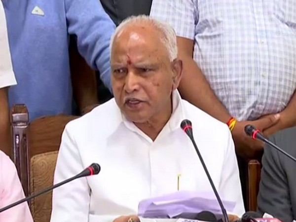 Karnataka Chief Minister BS Yediyurappa (file pic)
