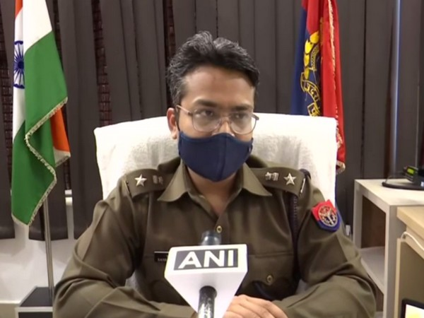 Sankalp Sharma, SSP Budaun (Photo/ ANI)