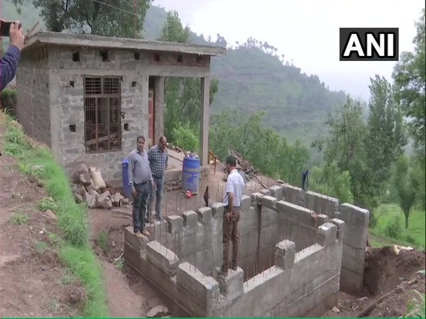 Construction of bunkers underway at India-Pakistan border area in Rajouri, J&K