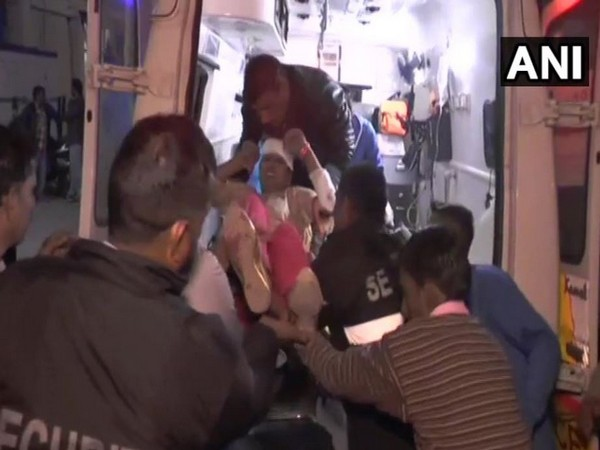 One person was killed and 30 sustained injuries in a bus accident in Ambala. Photo/ANI