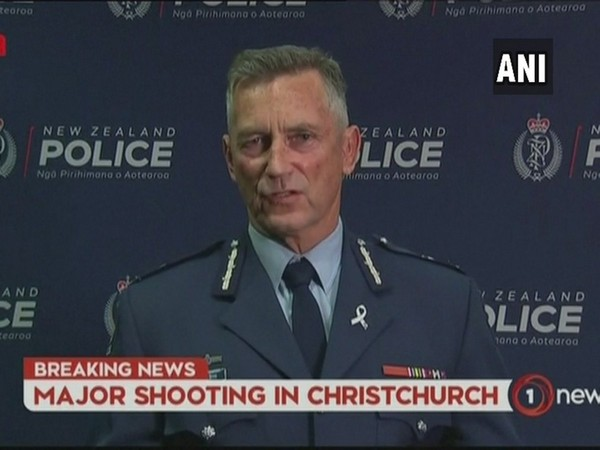 New Zealand Police Commissioner Mike Bush on Friday during the presser